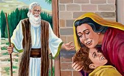 Image result for resurrection of a young boy in the bible elisha
