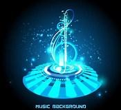 Image result for Futuristic Music. Size: 175 x 160. Source: freedesignfile.com