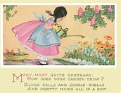 Image result for Images Mary Mary Quite Contrary. Size: 138 x 106. Source: www.merlinprints.com.au