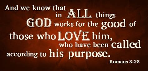 Image result for Romans 8:28