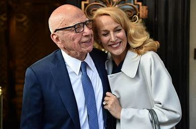 Image result for murdoch and jerry hall