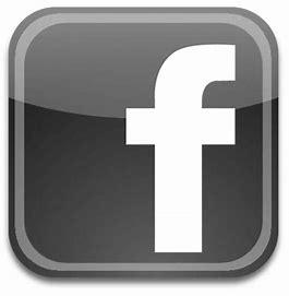 Image result for Black Facebook Icon