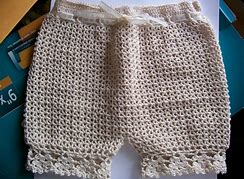 Image result for crochet underwear