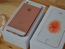 Image result for Apple iPhone SE Rose Gold. Size: 213 x 160. Source: www.thecolourcarousel.co.uk