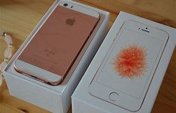 Image result for iPhone SE Rose Gold. Size: 248 x 160. Source: www.thecolourcarousel.co.uk