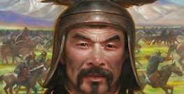 Image result for Images Genghis Khan. Size: 211 x 108. Source: www.showmoonmag.com