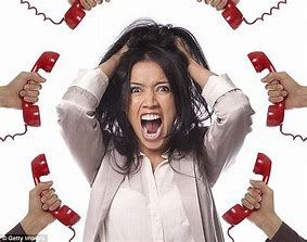 Image result for images of nuisance phone calls