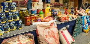 Image result for food bank with family