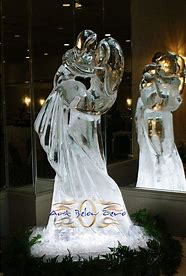 Image result for images ice sculptures weddings
