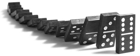 Image result for setting up dominoes