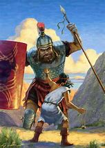 Image result for Goliath and His Armor