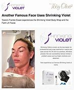 Image result for faith lift facial shirnking violet
