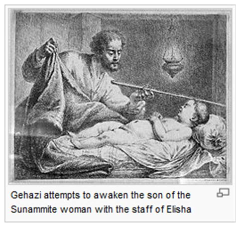 Image result for Running to Elisha Shunammite Woman