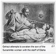 Image result for Running to Elisha Shunammite Woman