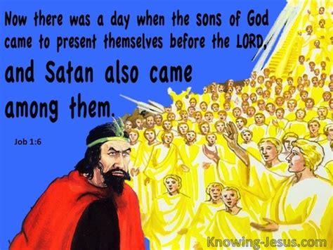 Image result for Satan came with the Sons of God