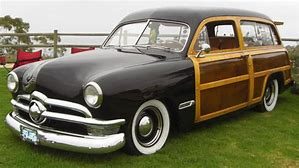 Image result for images 50s ford woody