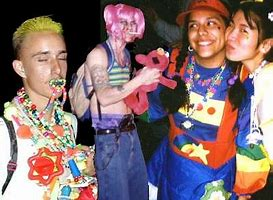 Image result for images raves of the 90s