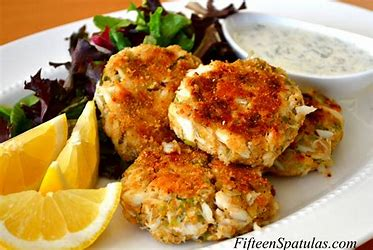 Image result for images of crab cakes
