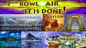 Image result for the seventh angel pours the bowl it is done