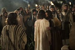 Image result for jesus with judas in the garden pics
