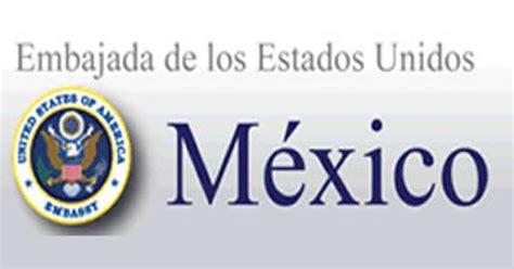 Resultado de imagen de logo de la Embajada de Estados Unidos en México