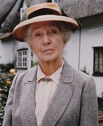 Image result for images of joan hickson as miss marple
