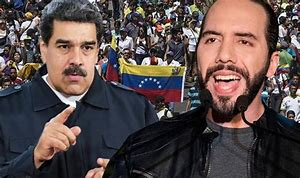 """Venezuela's President Nicolas Maduro has called his El Salvadoran President, Nayib Bukele, a """"traitor"""" after the latter expelled diplomats representing the Caracas government from the Central American state…"""