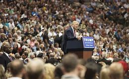 Image result for trump at rally