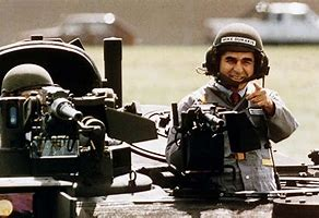 Image result for images dukakis in tank