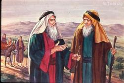 Image result for God gives Aaron to help Moses