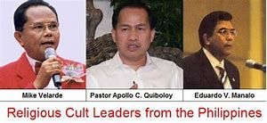 Image result for many filipino's think apollo quiboloy is christ