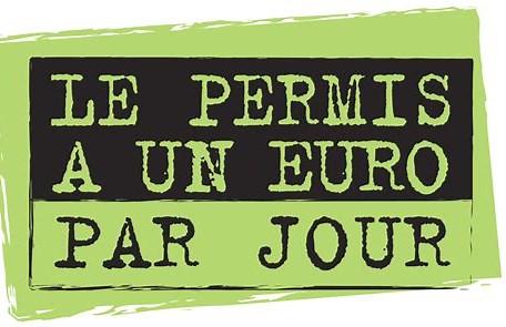 Résultat d'image pour Logo Permis 1 euros