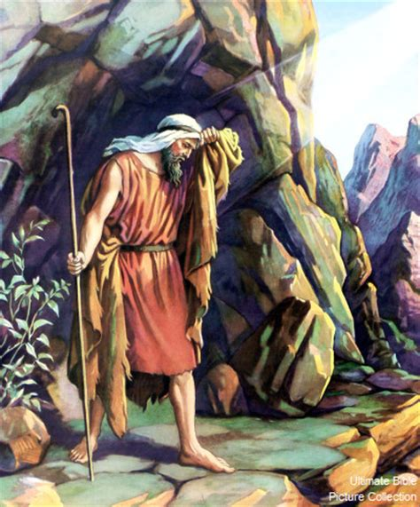 Image result for Elijah Cave in the Bible