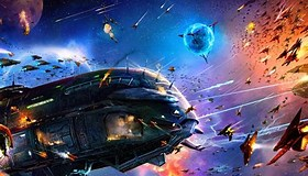 Image result for Star Wars Space battles. Size: 280 x 160. Source: wallpapersafari.com