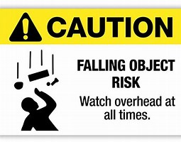 Image result for falling object hazard. Size: 204 x 160. Source: www.pinterest.com