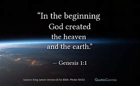 Image result for genesis 1:1