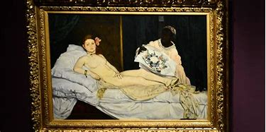 Image result for olympia manet