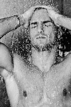 Image result for man showering pics