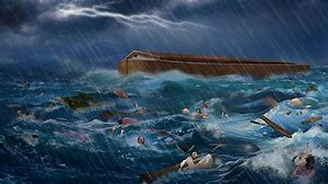 Image result for the flood noah\s ark