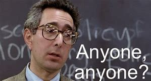Image result for images of ben stein in ferris bueller