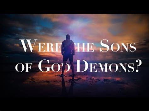 Image result for sons of god in genesis 6