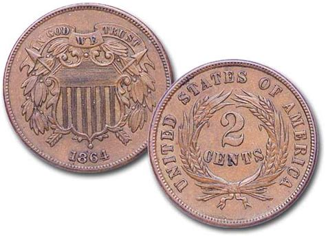 """Image result for """"In God We Trust"""" to be included on one-cent and two-cent coins."""