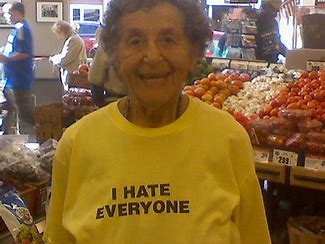 Image result for pic cranky old woman