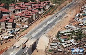 Image result for images chinese building roads in africa