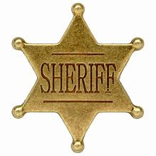 Image result for Sheriff Badge