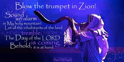 Image result for blow a trumpet in Zion