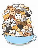 Résultat d'images pour chat content kawaii