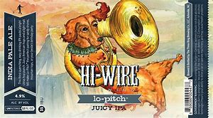 Image result for hi wire lo pitch juicy ipa