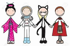 Image result for free clip art of childrens costume parade