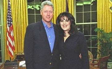 Image result for images of bill clinton with monica lewinsky